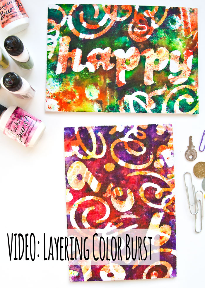 VIDEO: Try This Color Burst Technique from Kim Dellow
