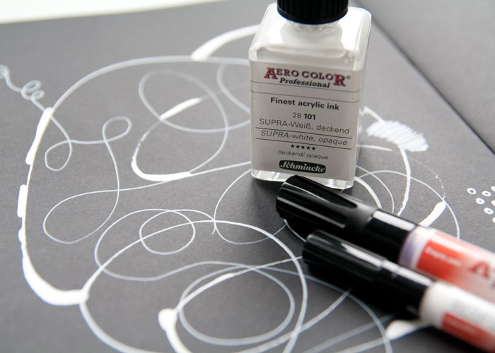 VIDEO: Art Stash Haul - Printing Inks, Brushes PLUS Is This The Best White pen?