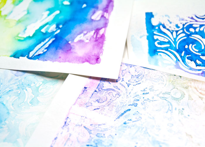 VIDEO: How to Gel Print With Watersoluble Crayons