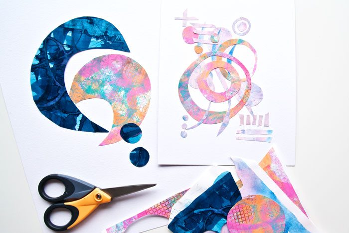 VIDEO: How To Paper Doodle And Use Up Your Leftover Papers
