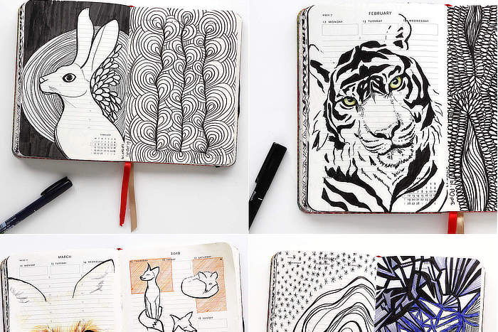 Read more about the article VIDEO: How I Am Doing Inktober 2019 – Sketchbook Tour