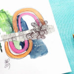 VIDEO: Mini Abstract Challenge – In Four Mini Mixed Media Parts!
