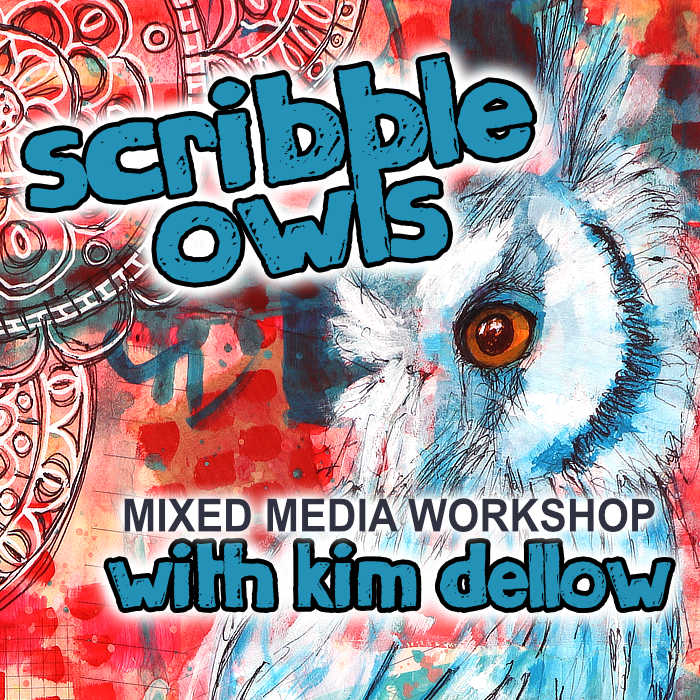 Scribble Owls Workshop