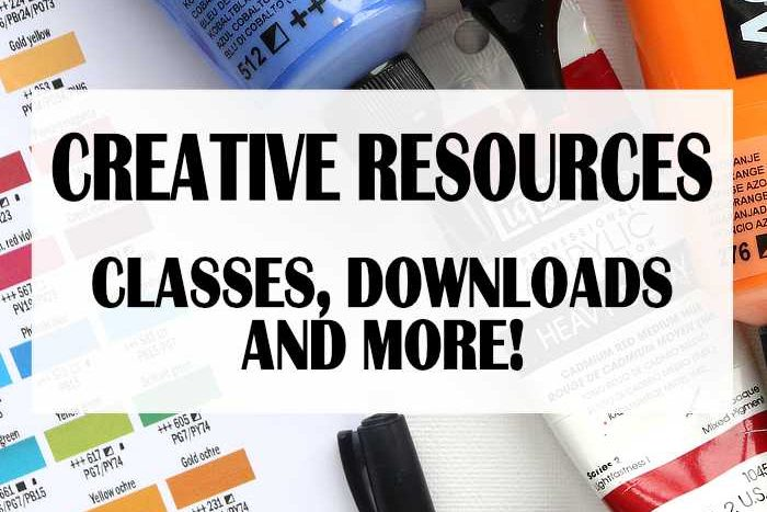 Creative Resources: Classes, Downloads and More!