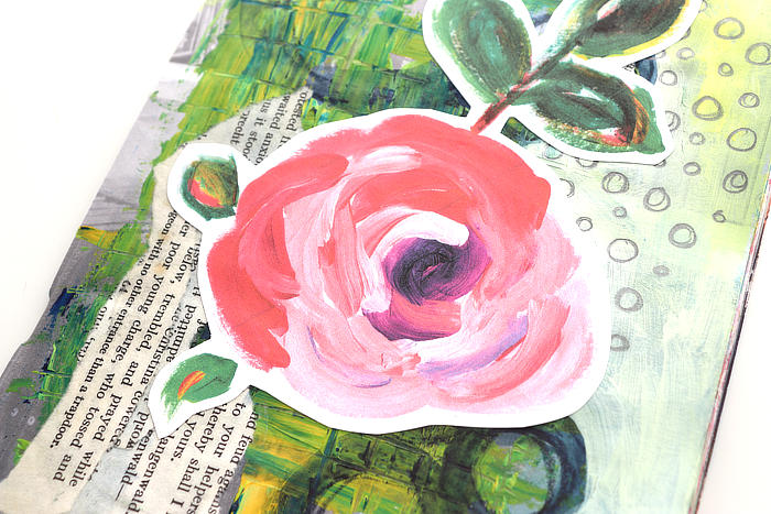Ideas For Your Art Journal: Collage And Doodle Mixed Media Page ***VIDEO***
