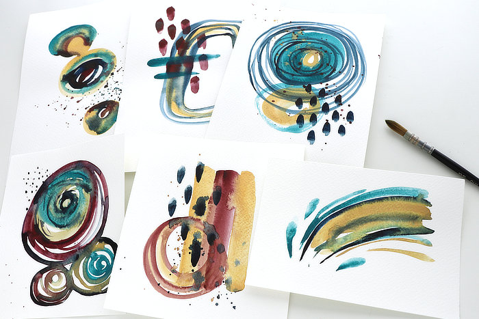 Watercolour Abstracts ***VIDEO***