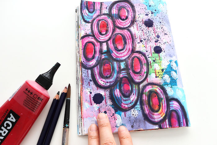 Make patterns features with Kim Dellow in September 2021 Art club
