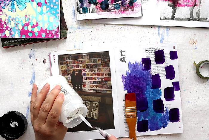Join Kim Dellow for a full art session in September 2021 Art club